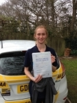 Chloe Wakeley passed with Bryan's School Of Motoring