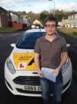 Connor Monk passed with Bryan's School Of Motoring