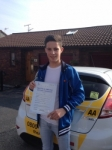 Corey Nesbitt passed with Bryan's School Of Motoring
