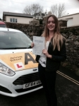 Daisy Watts passed with Bryan's School Of Motoring