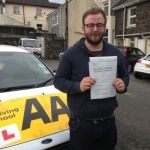 Dan Burden passed with Bryan's School Of Motoring