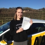 Ellen Chapman passed with Bryan's School Of Motoring