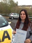 Emma Dearing passed with Bryan's School Of Motoring