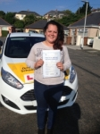 Evelyn Francis passed with Bryan's School Of Motoring
