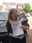 Georgia Shilvock passed with Bryan's School Of Motoring