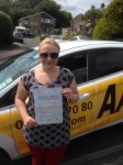 Harriet Hirons passed with Bryan's School Of Motoring