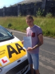 Hayden Drury passed with Bryan's School Of Motoring