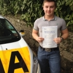 Hayden Troke passed with Bryan's School Of Motoring