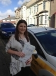Holly Bird passed with Bryan's School Of Motoring