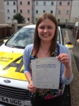 Laura Hayball passed with Bryan's School Of Motoring