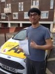 Chao Wu passed with Bryan's School Of Motoring