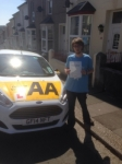 Ian Rowley passed with Bryan's School Of Motoring