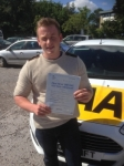 Jack Stephens passed with Bryan's School Of Motoring