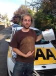 Jay Roerade passed with Bryan's School Of Motoring