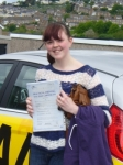 Jess Minter passed with Bryan's School Of Motoring