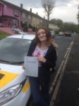 Jodie Williams passed with Bryan's School Of Motoring