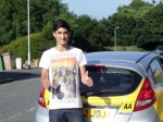 Joe Correa passed with Bryan's School Of Motoring