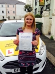 Karen Hayball passed with Bryan's School Of Motoring