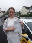 Katy Lowe passed with Bryan's School Of Motoring