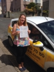 Kylie Whitney passed with Bryan's School Of Motoring