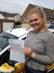 Lauren Williamson passed with Bryan's School Of Motoring