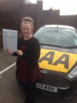 Leah Collings passed with Bryan's School Of Motoring