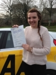 Leanne Bogan passed with Bryan's School Of Motoring