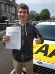 Lewis Photiou passed with Bryan's School Of Motoring