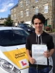Liam Pollard passed with Bryan's School Of Motoring