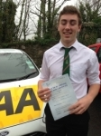 Lloyd Baron-Robinson passed with Bryan's School Of Motoring