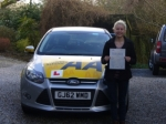 Lottie Ayland passed with Bryan's School Of Motoring