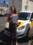 Lucinda Derbyshire passed with Bryan's School Of Motoring