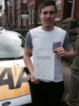 Luke Jarrod passed with Bryan's School Of Motoring
