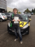 Luke Richards passed with Bryan's School Of Motoring