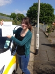 Mhairi Collins passed with Bryan's School Of Motoring