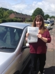 Natalie Anstis passed with Bryan's School Of Motoring