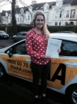 Olivia Moore passed with Bryan's School Of Motoring