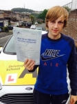 Owen Bending passed with Bryan's School Of Motoring
