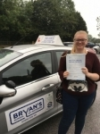 Rachel Clifton passed with Bryan's School Of Motoring