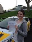 Rachel Newton passed with Bryan's School Of Motoring