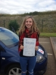 Rebecca Lee passed with Bryan's School Of Motoring