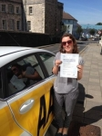 Rebecca Shellock passed with Bryan's School Of Motoring