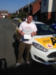 Rikki Manchip passed with Bryan's School Of Motoring