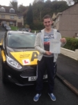 Sam Mathams passed with Bryan's School Of Motoring