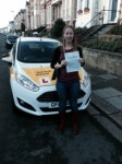 Sarah Bird passed with Bryan's School Of Motoring