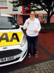 Sarah Kingswell passed with Bryan's School Of Motoring