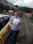 Shayna Allen passed with Bryan's School Of Motoring