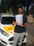 Simon Desfouli passed with Bryan's School Of Motoring