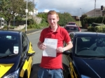 Stuart Nosworthy passed with Bryan's School Of Motoring