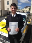 Toby Moore passed with Bryan's School Of Motoring